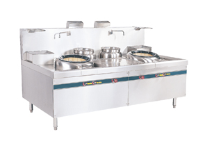 Guangdong type double tail cooking stove